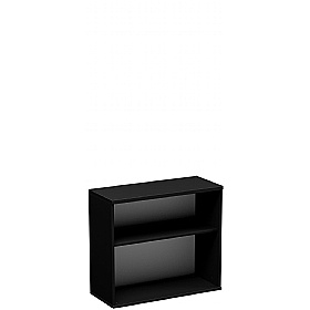 NEXT DAY Eclipse Essential Black Office Bookcases