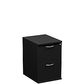 NEXT DAY Eclipse Essential Black Filing Cabinets