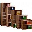 Deluxe Wooden Bookcases