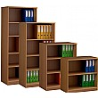 Deluxe Wooden Large Volume Bookcases