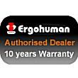 Ergohuman Leather Office Chairs Badge