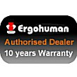 Ergohuman Leather Office Chairs Badge