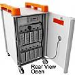 LapCabby - 10 Laptop Vertical Storage Trolley