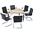 Trilogy Triangular Solo Boardroom Tables