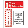 Fire Extinguisher Boards