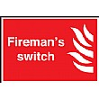 Firemans Switch Sign