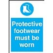Protective Footwear Must Be Worn Sign