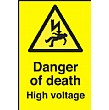 Danger Of Death High Voltage Sign