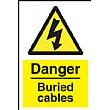 Danger Buried Cables Sign