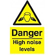 Danger High Noise Levels Sign