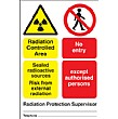 Radiation Controlled Area ...Sign (4)