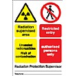Radiation Supervised Area ...Sign (6)