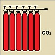 Gemglow CO2 Battery Sign