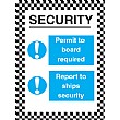 Security Permit To Board Required Report To Ships Security