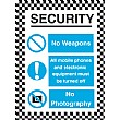 Security No Weapons All Mobile Phone…