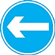 Left/Right Arrow Sign