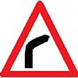 Right Bend Sign