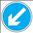 Diagonal Arrow Left Or Right