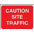 Caution Site Traffic Sign
