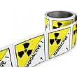 Radioactive Hazchem Labels On A Roll