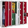 Perforated Door Metric Lockers With Biocote