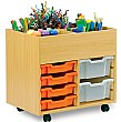 Art Storage 6 Tray Kinderbox Unit