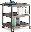 3 Shelf Super Strong Service Trolley