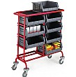 8 Container Storage Trolley