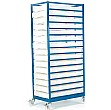 15 Tray Mobile Rack