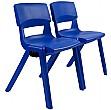 Sebel Postura Plus Linking Classroom Chairs Side