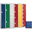British Standard Metric Coin Return Lockers With B