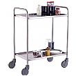 Food Grade Stainless Steel Tray Trolleys