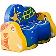 Under The Sea Turtle 2 Seat Sofa With Arms
