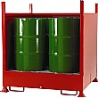 Drum Sump Storage System With Sides for 4 Vertical