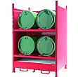 Drum Sump Storage System 4 Sides for 4 Drums
