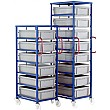 Mobile Tray Rack for 175mm Euro Containers