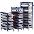 Mobile Tray Rack for 118mm Euro Containers