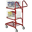 3 Tier Basket Trolley