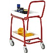 2 Tier Tray Trolley