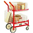 Mailroom Trolley - 3 Baskets