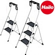 Hailo Safety Plus Steel Folding Steps