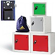 Cube Coin Retain Lockers With ActiveCoat