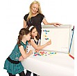 Little Rainbows Magnetic Whiteboard Easel