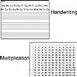 Handwriting and Multiplication