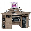 Zumba Computer Workstation Sawn Oak
