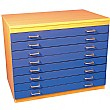 8 Drawer A1 Plan Storage Chest