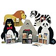 Novelty Double Sided Animal Bookcases