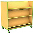Edge Double Sided Bookcase