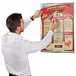 Busygrip Stainless Steel Poster Frame