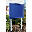 WeatherShield Lockable Free Standing Showcase